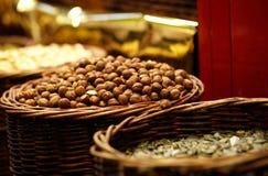 Hazelnuts. Stock Photos