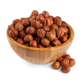 Hazelnuts Obraz Royalty Free