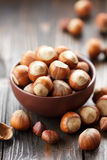 Hazelnuts Obrazy Royalty Free
