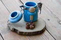 Hazelnuts Zdjęcie Royalty Free