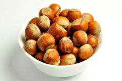 hazelnuts Fotografia de Stock Royalty Free