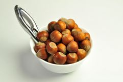 hazelnuts Fotos de Stock