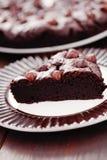 Hazelnuts brownie Stock Image