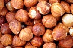 Hazelnuts. A close-up image of hazelnuts Royalty Free Stock Photography