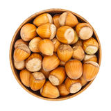 Hazelnuts in pot Royalty Free Stock Photo