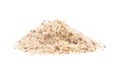 Hazelnuts powdered Stock Images