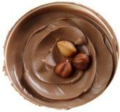 Hazelnuts w nugata maśle. Zdjęcie Royalty Free