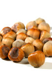Hazelnuts Royalty Free Stock Photos