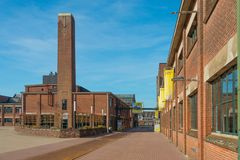 Hazemeijer Hengelo, former factory of Holec. Historical Place Hengelo - Creative Industry stock images