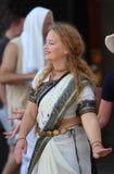 Hazen Krishna/het Dansen en Zingend royalty-vrije stock foto