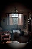 Hazey客厅 库存图片