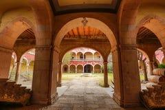 Hazienda-Architekturdetails Jaral de Berrio lizenzfreie stockfotografie