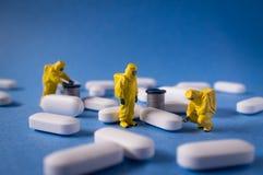 Hazmat-Inspektions-Pillen Lizenzfreie Stockfotografie