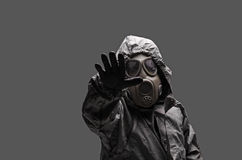 Hazmat suit Royalty Free Stock Images
