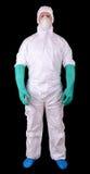 Hazmat suit stock photos