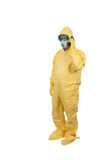 Hazmat Suit royalty free stock photo