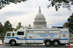 Hazmat Vehicle, Washington DC Stock Images