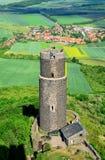 Hazmburk castle Royalty Free Stock Photography