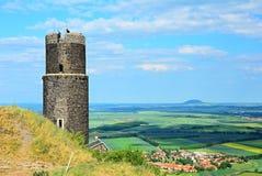 Hazmburk castle Stock Images