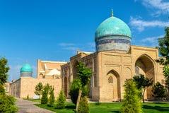 Hazrat Imam Ensemble i Tasjkent, Uzbekistan royaltyfria bilder