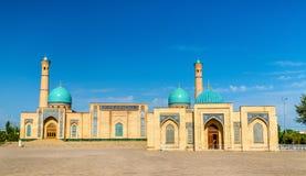 Hazrat Imam Ensemble i Tasjkent, Uzbekistan royaltyfri bild