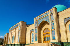 Hazrat Imam Ensemble i Tasjkent, Uzbekistan royaltyfria foton