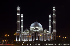 Hazrat-Sultan Mosque, Astana, Kazakhstan Royalty Free Stock Photos