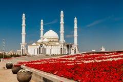 Hazrat Sultan Mosque, Kazakhstan, Astana Stock Photography