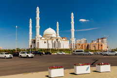 Hazrat Sultan Mosque, Kazakhstan, Astana Royalty Free Stock Photos