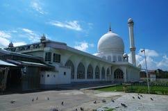 Hazratbal relikskrin på Srinagar-1 Arkivfoto