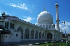Hazratbal relikskrin på Srinagar-2 Arkivbilder