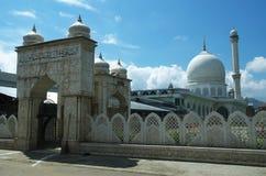 Hazratbal relikskrin på Srinagar-3 Royaltyfria Bilder