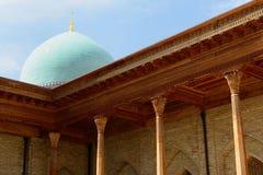 Hazrati Imam Complex Main Mosque Tasjkent, Uzbekistan arkivbild