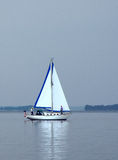 Hazy  Day Sail Stock Image