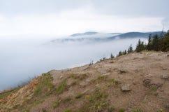 Hazy Mountains Royalty Free Stock Photos