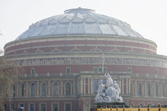 Hazy Royal Albert Hall Royalty Free Stock Photography
