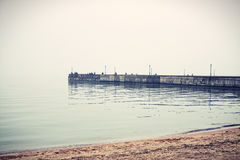 Hazy sea Royalty Free Stock Photo