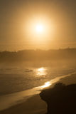 A hazy shade of sunset Royalty Free Stock Photo
