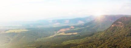 Hazy Sunrise in God`s Window - South Africa Royalty Free Stock Image