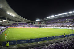 Hazza bin Zayed Stadium Arkivbild