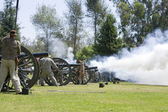 HB Civil War Re-Enactment 3111 royalty free stock image