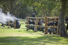 HB Civil War Re-Enactment 3428 Royalty Free Stock Photos