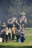 HB Civil War Re-Enactment 3465 Royalty Free Stock Photo