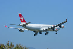 HB-JMI Airbus A340-300 of Swissair, Stock Photography