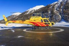 HB-ZMU Eurocopter AS350B3e Ecureuil Стоковое Изображение