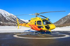HB-ZMU Eurocopter AS350B3e Ecureuil Стоковая Фотография