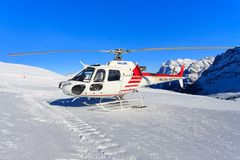 HB-ZNJ AS350B3 swissheli Zdjęcia Royalty Free