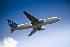 HBA Boeing 767 - 9Q-COG imagem de stock