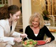 Hábitos comendo saudáveis Imagem de Stock Royalty Free