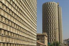 HBL-Plaza, Karachi, Pakistan royaltyfria bilder